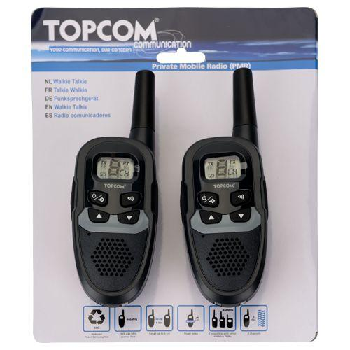 topcom walkie talkie bereik 6 km kavel nr 519259. Black Bedroom Furniture Sets. Home Design Ideas