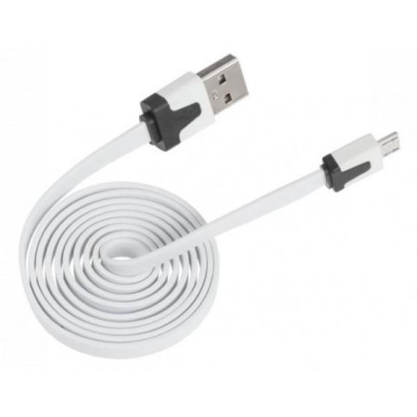 2 x de platte kabel micro usb usb kavel nr 548043. Black Bedroom Furniture Sets. Home Design Ideas
